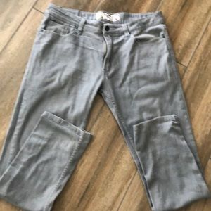 Men's Red Snap gray pants denim